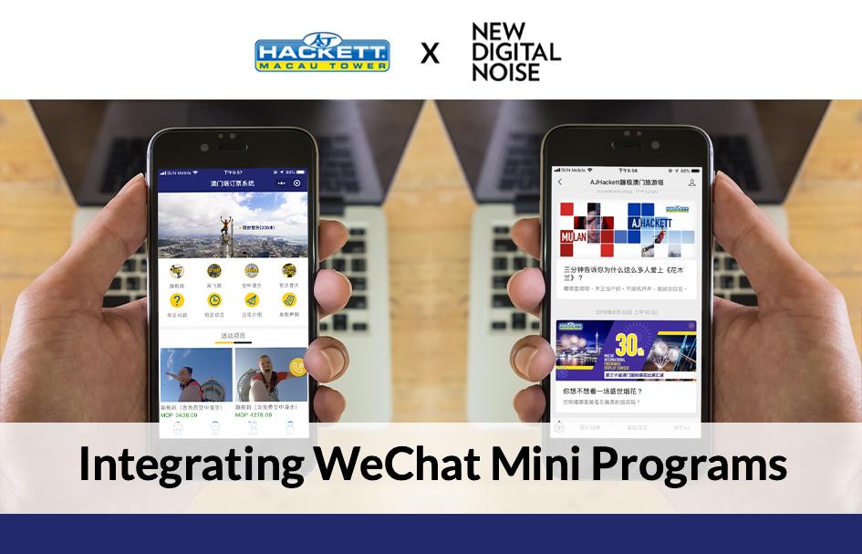 Integrating WeChat Mini Programs
