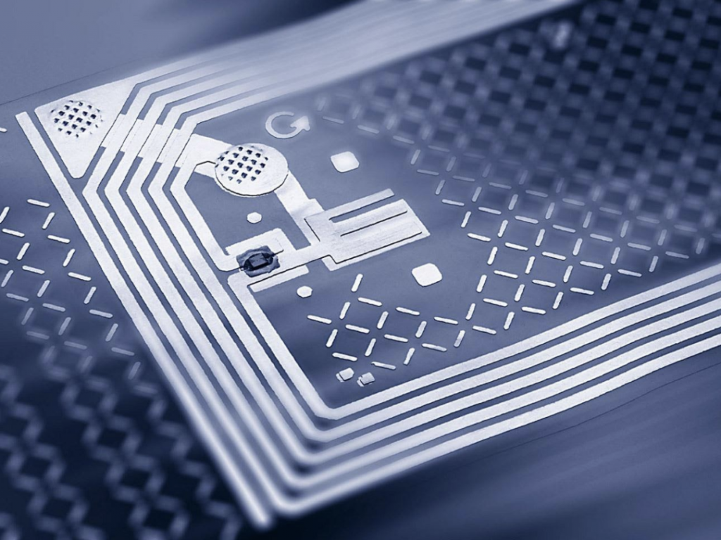 RFID technology is used by banks to safeguard the security of digital assets.